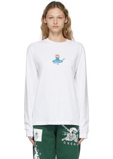 Brain Dead White Man-Machine Long Sleeve T-Shirt
