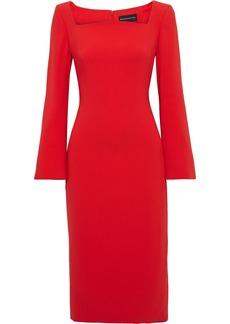 Brandon Maxwell Woman Stretch-crepe Dress Red