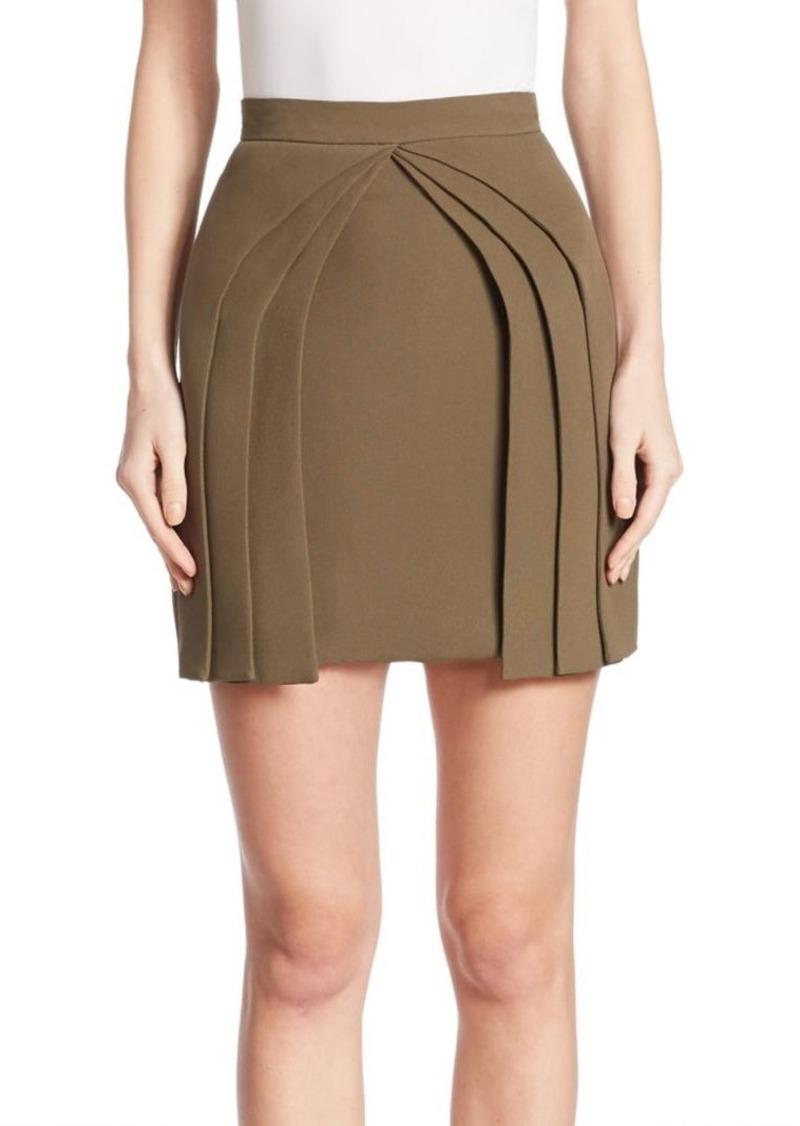 Brandon Maxwell Layered Mini Skirt