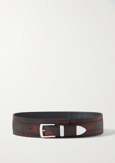 Brandon Maxwell Printed Shell Waist Belt