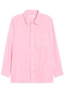 Brass Plum Be Proud by BP. Gender Inclusive Button-Up Shirt