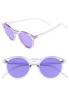 BP. 49mm Round Sunglasses