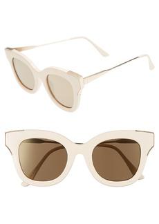 Brass Plum BP. 50mm Cat Eye Sunglasses