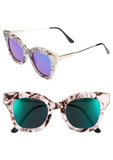 BP. 50mm Cat Eye Sunglasses