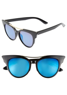 BP. 50mm Cat Eye Sunglasses