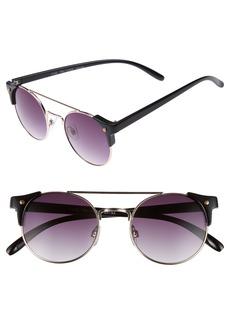 Brass Plum BP. 50mm Double Bridge Sunglasses