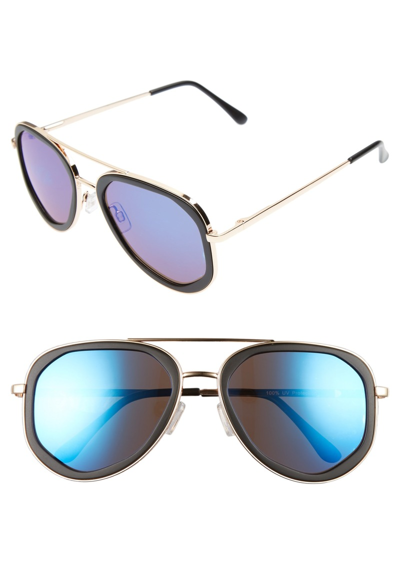 Brass Plum BP. 50mm Mirrored Aviators