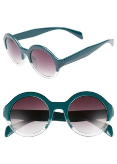 BP. 50mm Round 2 Tone Sunglasses