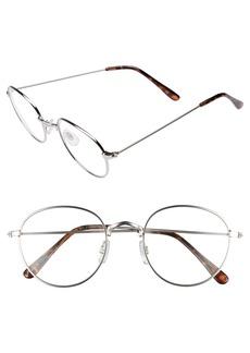 Brass Plum BP. 50mm Round Fashion Glasses