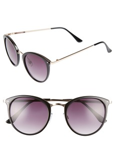 Brass Plum BP. 50mm Round Sunglasses