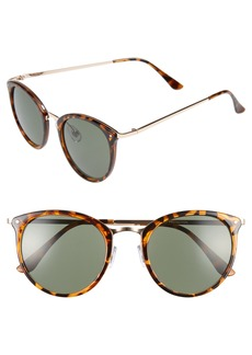 Brass Plum BP. 50mm Round Sunglasses