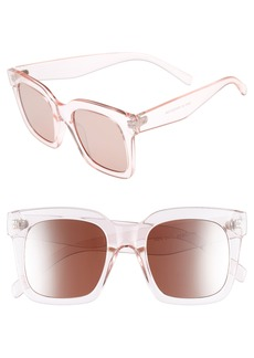 Brass Plum BP. 50mm Square Sunglasses