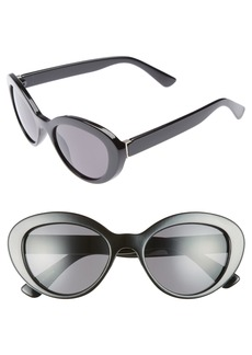 BP. 50mm Vintage Cat Eye Sunglasses