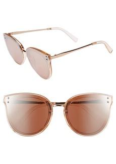 Brass Plum BP. 51mm Round Sunglasses