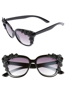 BP. 52mm Floral Square Sunglasses