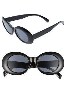 Brass Plum BP. 52mm Oval Sunglasses