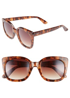 BP. 52mm Square Cat Eye Sunglasses