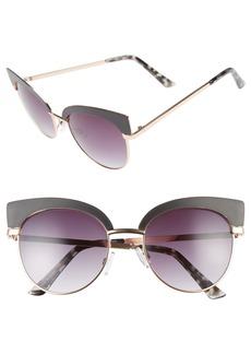 Brass Plum BP. 53mm Cat Eye Sunglasses