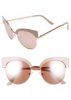 Brass Plum BP. 53mm Cat Eye Sunglasses