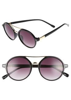 BP. 53mm Round Sunglasses