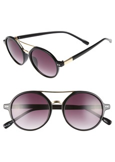 Brass Plum BP. 53mm Round Sunglasses