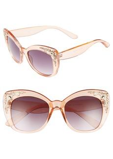 BP. 54mm Embellished Cat Eye Sunglasses