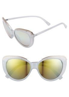 Brass Plum BP. 54mm Metal Trim Sunglasses