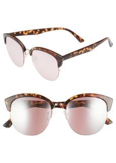 BP. 54mm Round Cat Eye Sunglasses