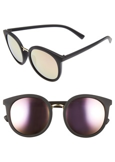 BP. 54mm Round Sunglasses