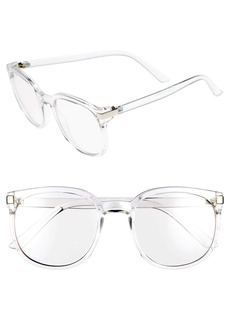 BP. 55mm Clear Oval Fashion Glasses