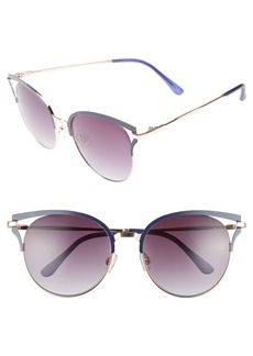 BP. 55mm Colored Round Sunglasses
