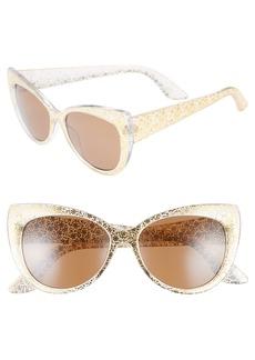 BP. 55mm Floral Cat Eye Sunglasses