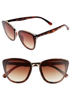 BP. 55mm Perfect Cat Eye Sunglasses