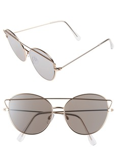 Brass Plum BP. 55mm Round Sunglasses