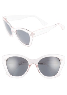 Brass Plum BP. 55mm Square Sunglasses