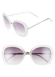 Brass Plum BP. 55mm Square Wing Sunglasses