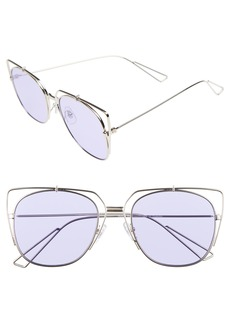 BP. 55mm Translucent Square Sunglasses