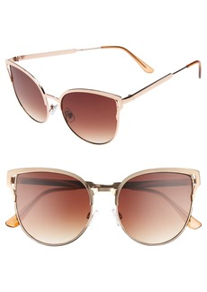 BP. 56mm Cat Eye Sunglasses