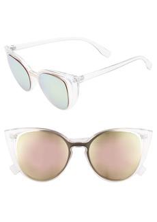 BP. 56mm Cutout Cat Eye Sunglasses