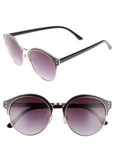 Brass Plum BP. 56mm Round Sunglasses