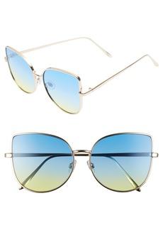 BP. 58mm Metal Fade Sunglasses