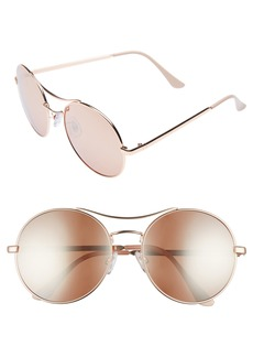 BP. 58mm Oversize Round Sunglasses