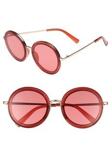 BP. 59mm Round Sunglasses
