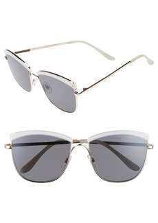 BP. 60mm Enamel Square Sunglasses
