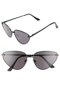 BP. 60mm Exaggerated Cat Eye Sunglasses