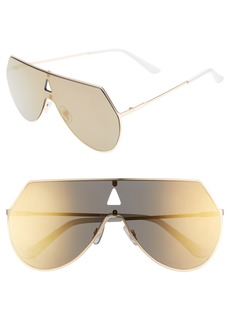 Brass Plum BP. 60mm Flat Lens Aviator Sunglasses