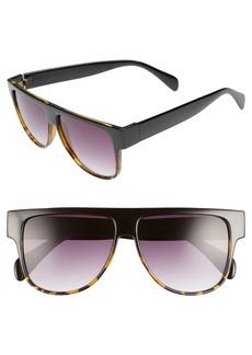 BP. 60mm Ombré Shield Sunglasses