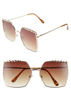 BP. 60mm Square Sunglasses