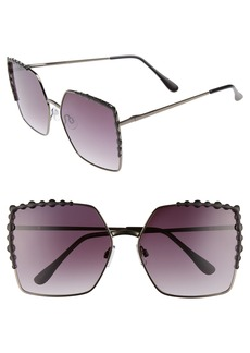 BP. 64mm Oversize Square Sunglasses