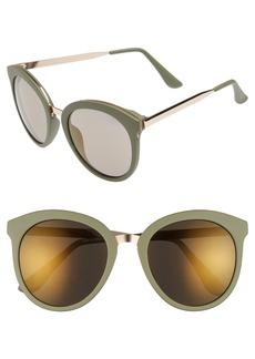 Brass Plum BP. 64mm Round Sunglasses